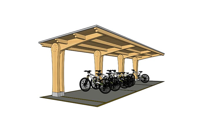 3-bikeport
